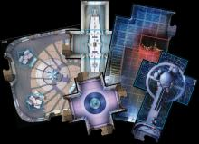 New map tiles featuring the rooms, undercity and hallways of Cloud City are included. Miniatures can battle in the campaign or use the skirmish scenarios. (Deseret Photo)
