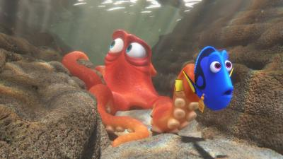 When Dory (voice of Ellen DeGeneres) finds herself in the Marine Life Institute, a rehabilitation center and aquarium, Hank (voice of Ed O'Neill) — a cantankerous octopus — is the first to greet her. (Deseret Photo)