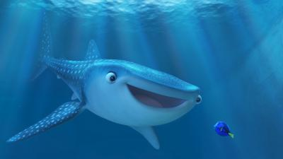 FINDING DORY. Pictured (L-R): Destiny and Dory. ©2016 Disney•Pixar. All Rights Reserved. (Deseret Photo)