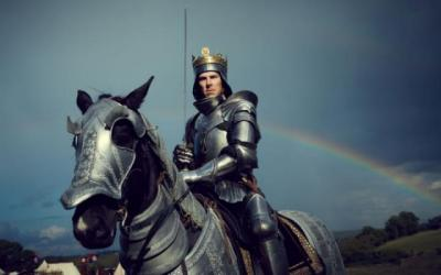 """Benedict Cumberbatch stars as Richard III in the TV miniseries amalgam of Shakespeare historical plays, """"The Hollow Crown: The Wars of the Roses,"""" now on Blu-ray and DVD. (Deseret Photo)"""