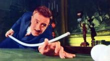 """Peter Sellers, as Inspector Clouseau, selects an unfortunate pool cue for this classic sequence in """"A Shot in the Dark"""" (1964), an example of finely honed slapstick comedy. (Deseret Photo)"""