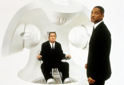 "Tommy Lee Jones and Will Smith in ""Men in Black II."" (Deseret Photo)"