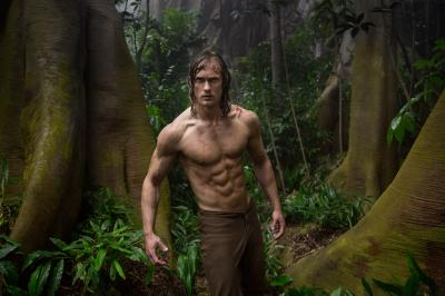 """Alexander Skarsgard at as Tarzan in Warner Bros. Pictures' and Village Roadshow Pictures' action adventure """"The Legend of Tarzan."""" (Deseret Photo)"""