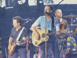 Have You Seen This? Michael J. Fox jams with Coldplay