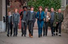 "The cast of ""Sing Street,"" an Irish coming-of-age musical, now on Blu-ray and DVD. (Deseret Photo)"