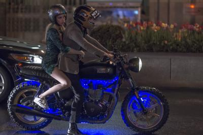 """Vee (Emma Roberts) and Ian (Dave Franco) in """"Nerve."""" (Deseret Photo)"""
