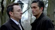 """Michael Emerson, left, and Jim Caviezal star in """"Person of Interest. The sci-fi TV series' fifth and final season is on Blu-ray and DVD. (Deseret Photo)"""