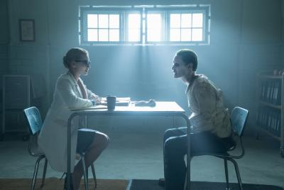 """Margot Robbie as Harley Quinn and Jared Leto as The Joker in """"Suicide Squad."""" (Deseret Photo)"""