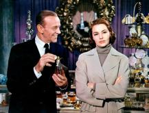 """Affable Fred Astaire charms steely Cyd Charisse in the musical-comedy """"Silk Stockings"""" (1957), now on Blu-ray for the first time. (Deseret Photo)"""
