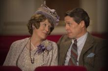 """Meryl Streep as Florence Foster Jenkins and Hugh Grant as St Clair Bayfield in """"Florence Foster Jenkins."""" (Deseret Photo)"""