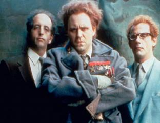 """Vincent Schiavelli, left, John Lithgow and Christopher Lloyd are the chief villains of """"Buckaroo Banzai Across the Eighth Dimension"""" (1984), new to Blu-ray this week. (Deseret Photo)"""