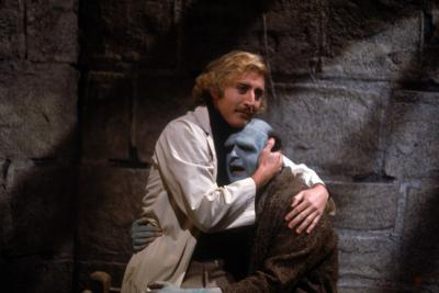 """Gene Wilder stars as Dr. Frankenstein and Peter Boyle as The Monster in """"Young Frankenstein."""" (Deseret Photo)"""
