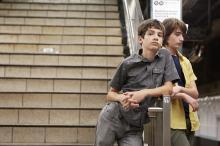 "Michael Barbieri and Theo Taplitz in ""Little Men."" (Deseret Photo)"