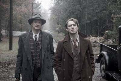 "Colin Firth, left, is editor Maxwell Perkins, and Jude Law plays author Thomas Wolfe, two British actors as real-life American characters in ""Genius."" (Deseret Photo)"