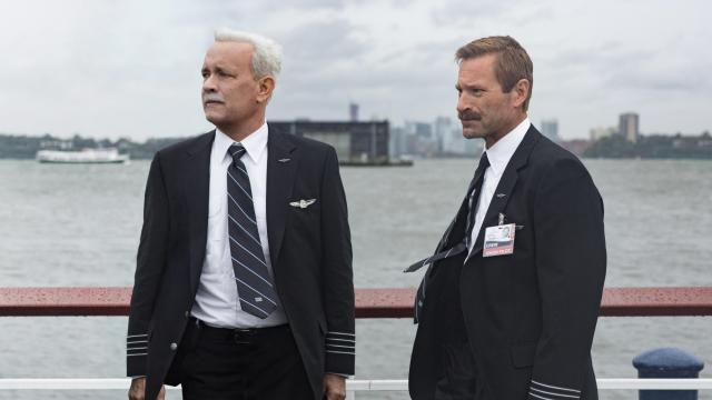 """Tom Hanks is Chesley """"Sully"""" Sullenberger and Aaron Eckhart is Jeff Skiles in """"Sully."""" (Deseret Photo)"""