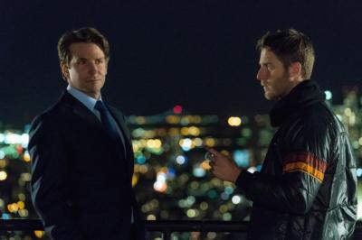 """Bradley Cooper, left, is a producer and appears in four episodes of the single-season TV series """"Limitless,"""" with Jake McDorman starring. The show, now on DVD, is a sequel to Cooper's 2011 film. (Deseret Photo)"""