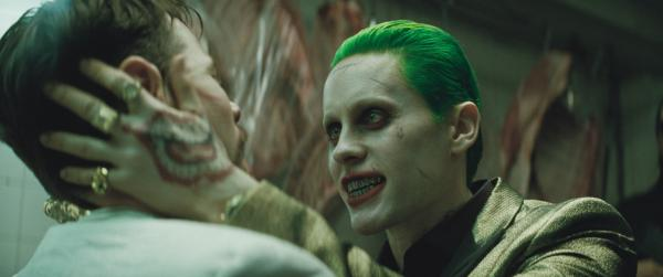 """Jared Leto is The Joker in """"Suicide Squad."""" Whole scenes glimpsed in the film's trailers were cut out, and despite the trailers' emphasis on Jared Leto's Joker, his actual screen time basically amounted to a cameo. (Deseret Photo)"""