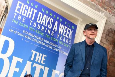 """Ron Howard attends the screening for new documentary, """"The Beatles: Eight Days a Week — The Touring Years,"""" at the Picture House Central cinema on Aug. 9, 2016 in London. (Ian West/PA Wire/Zuma Press/TNS) (Deseret Photo)"""