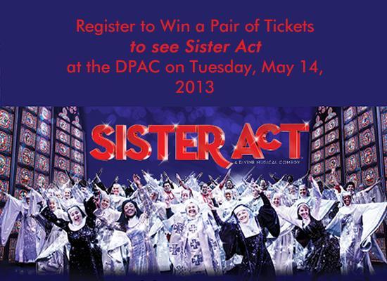 2013_Sister_Act_DPAC - Splash Image