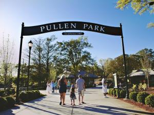 Pullen Park hosted its annual Easter Egg Hunt on Monday, April 2. The event was initially scheduled for Saturday March 31, but rainy weather called for a re-do. Monday the skies were clear as families flooded the park for fun and games.