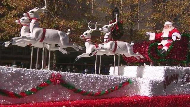 2012 WRAL Raleigh Christmas Parade
