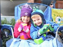 Tens of thousands lined the streets of downtown for the 2012 WRAL Raleigh Christmas Parade on Saturday, Nov. 17, 2012.