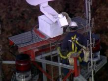WRAL prepares for tower lighting