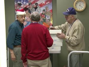 Tucked away in a corner at Raleigh Durham International Airport, veterans with the United Service Organization prepare day and night to welcome traveling troops into a calm, comfortable rest stop.