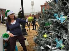 Non-profits decorate trees for a chance at cash prizes. See all the trees on American Tobacco Campus in Durham, and cast a vote for your favorite.  http://www.triangletreechallenge.com/