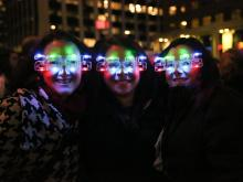 Photos from the annual New Year's Eve celebration in downtown raleigh on Dec. 24, 2014.