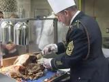 Fort Bragg enjoys early Thanksgiving feast