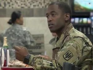 Soldiers and their families at Fort Bragg were being treated to a Thanksgiving dinner with all the trimmings starting Tuesday. Over the course of the holiday weekend, hundreds of meals will be served on post to those who serve our country throughout the year.