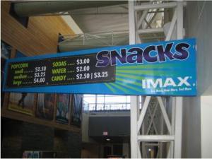 IMAX Snacks
