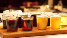 Mash House beer samples