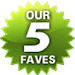 Our 5 Faves Badge
