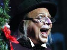 Ira David Wood III returns to the stage as Ebenezer Scrooge this weekend