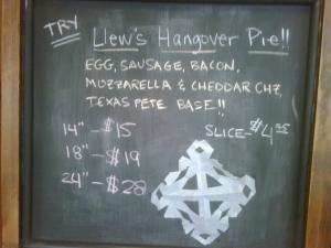 Plate Pics: Hangover Pie at Ruckus Pizza & Bar