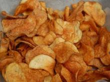 Raleigh Times' homemade chips