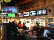 A look at the World of Beer grand opening in North Hills on Jan. 13, 2012.