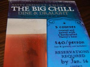 Natty Greene's is hosting a Dine & Draught event with food and beer pairing.