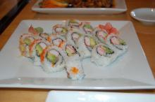 California Rolls at Sushi Nine