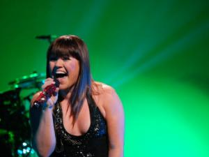 Kelly Clarkson played the Durham Performing Arts Center on Jan. 31, 2012.