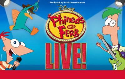 Phineas and Ferb Live at the DPAC