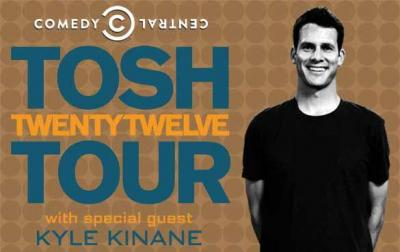Daniel Tosh is coming to the DPAC on April 11, 2012. (Image from DPAC)
