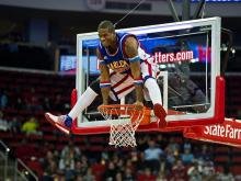 The Harlem Globetrotters performed at the RBC Center on March 2, 2012.