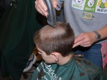 Napper Tandy's in Raleigh hosted its annual St. Baldrick's fundraiser on March 3, 2012.