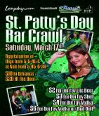 lazyday st. patty&#039;s bar crawl