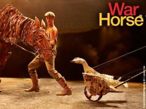 """""""War Horse"""" runs at the DPAC form Oct. 2-7, 2012. (Image courtesy of the DPAC)"""