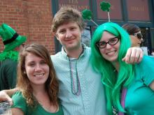 WRAL's Out & About captured revelers enjoying St. Patrick's Day throughout Raleigh.