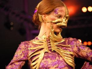 The avant-garde fashion show held on April 11, 2012, as part of N.C. State Fashion Week,.